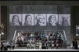 Trionfa la retorica di Chénier all'Opera di Roma