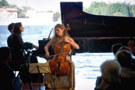La luce del violoncello allo Squero