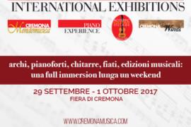 Strumenti, eventi, concerti: conto alla rovescia per Cremona Musica 2017