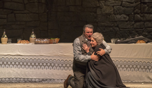 Cavalleria rusticana- Marcello Giordani (Turiddu), Tiziana Carraro (Lucia)
