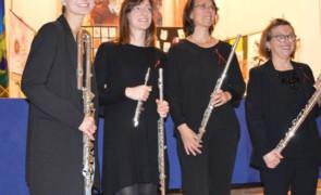 Le rare emozioni di un quartetto di flauti