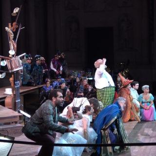 Il meraviglioso Falstaff di Fischer all'Olimpico di Vicenza