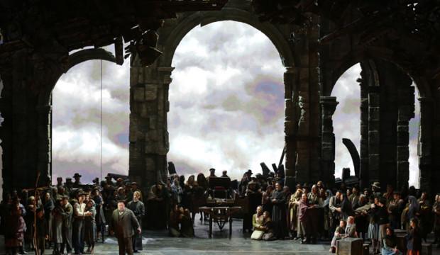 Il trionfo di Attila all'apertura della Scala