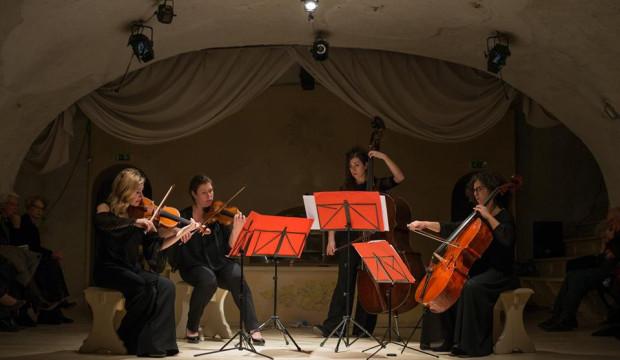 Documenti in musica nelle grotte romane