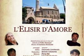 Ugo Benelli regista dell'Elisir a Genova