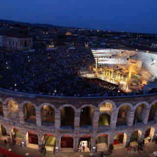 Parata di stelle all'Arena di Verona (con la chicca di Katia)