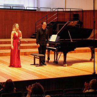Il duo Tifu-Andaloro per la ripartenza della Società dei Concerti