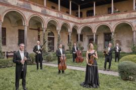 La Filarmonica della Scala nei cortili di Milano