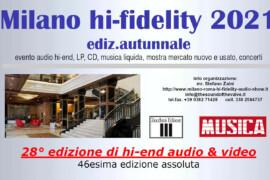 Torna il Milano hi-fidelity